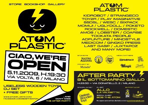 AtomPlastic - OpeningFlyer