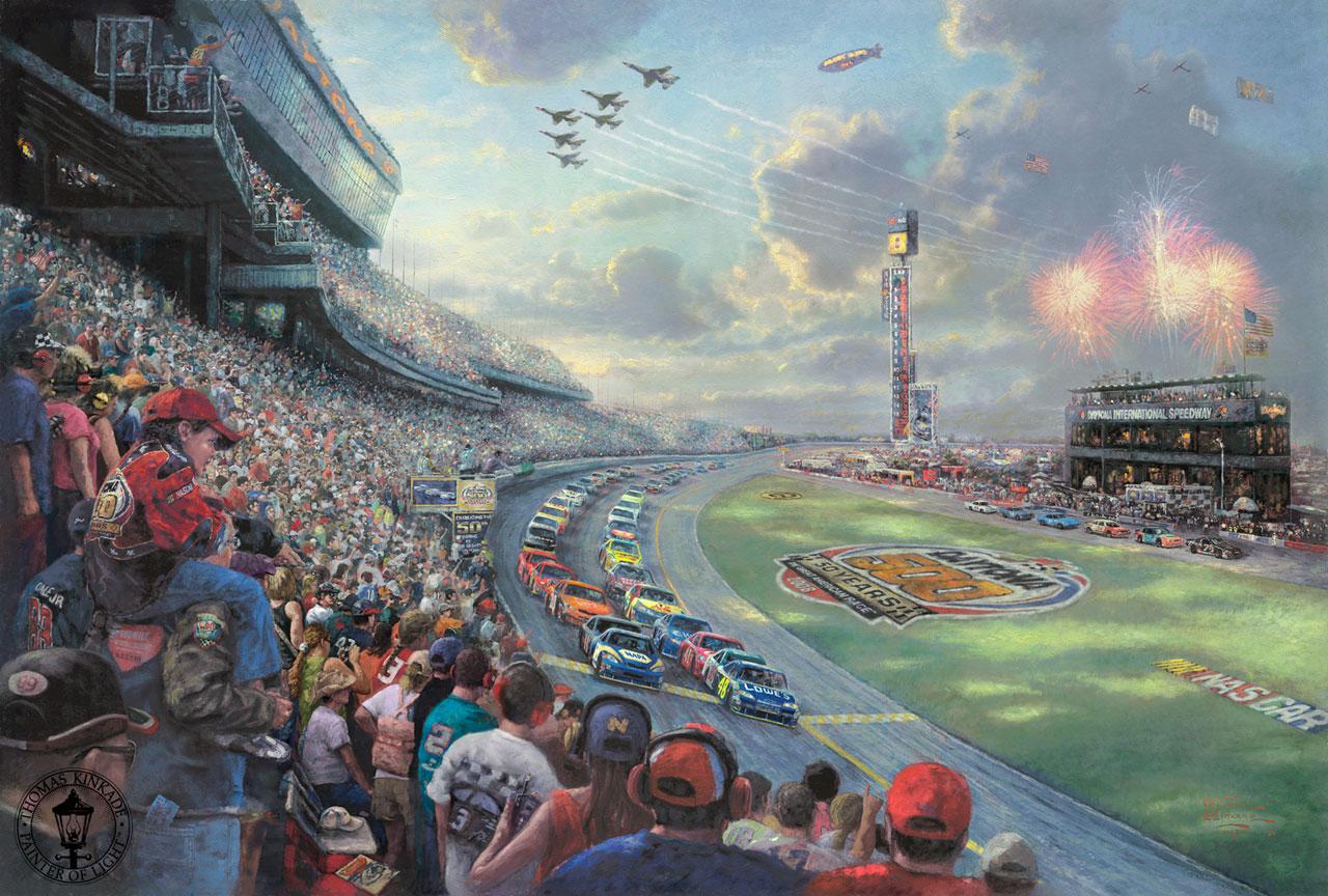 Race Track Wall Art >> Thomas Kinkade: Omaggio al pittore più venduto della ...