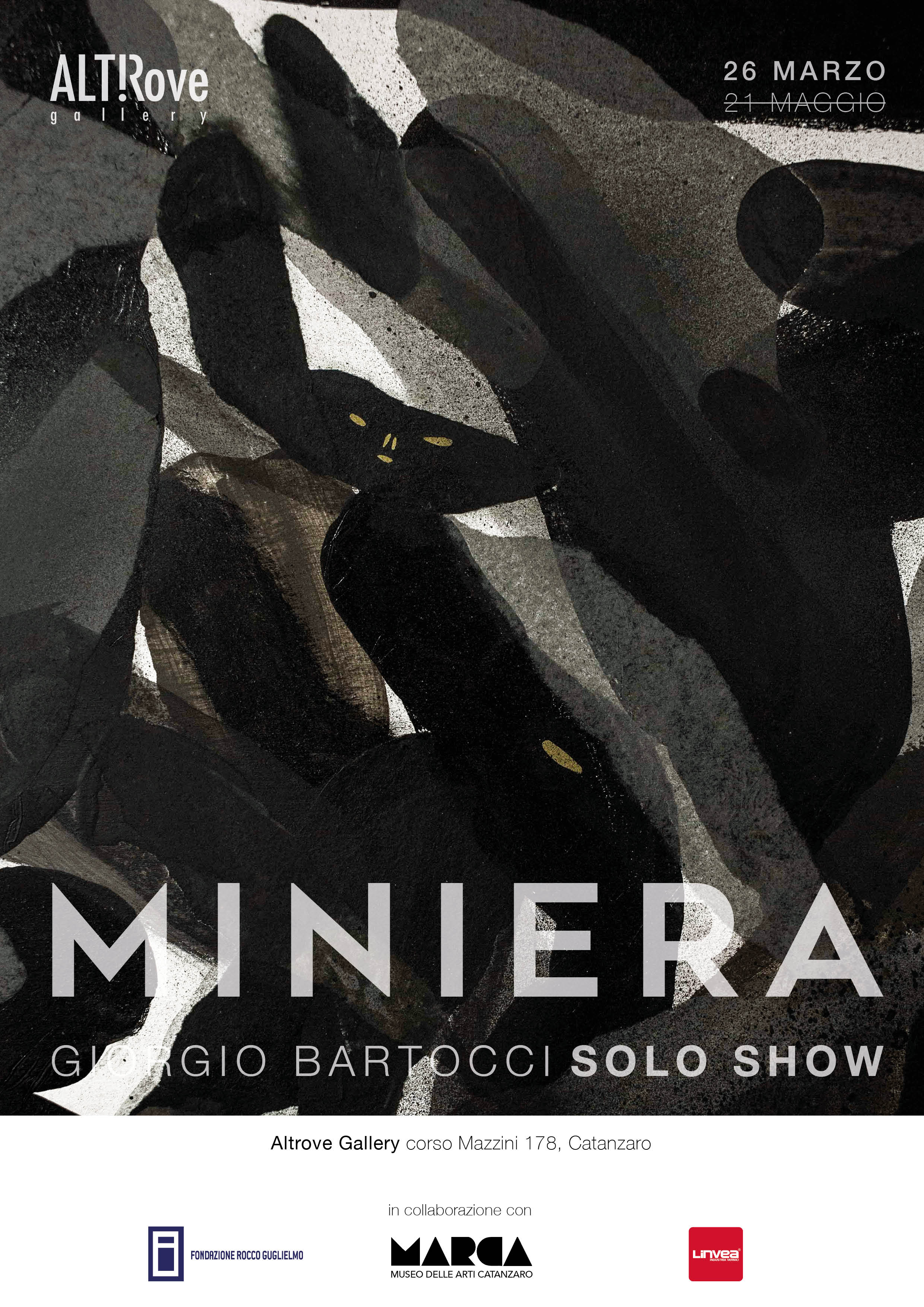 Miniera - Giorgio Bartocci _ Locandina