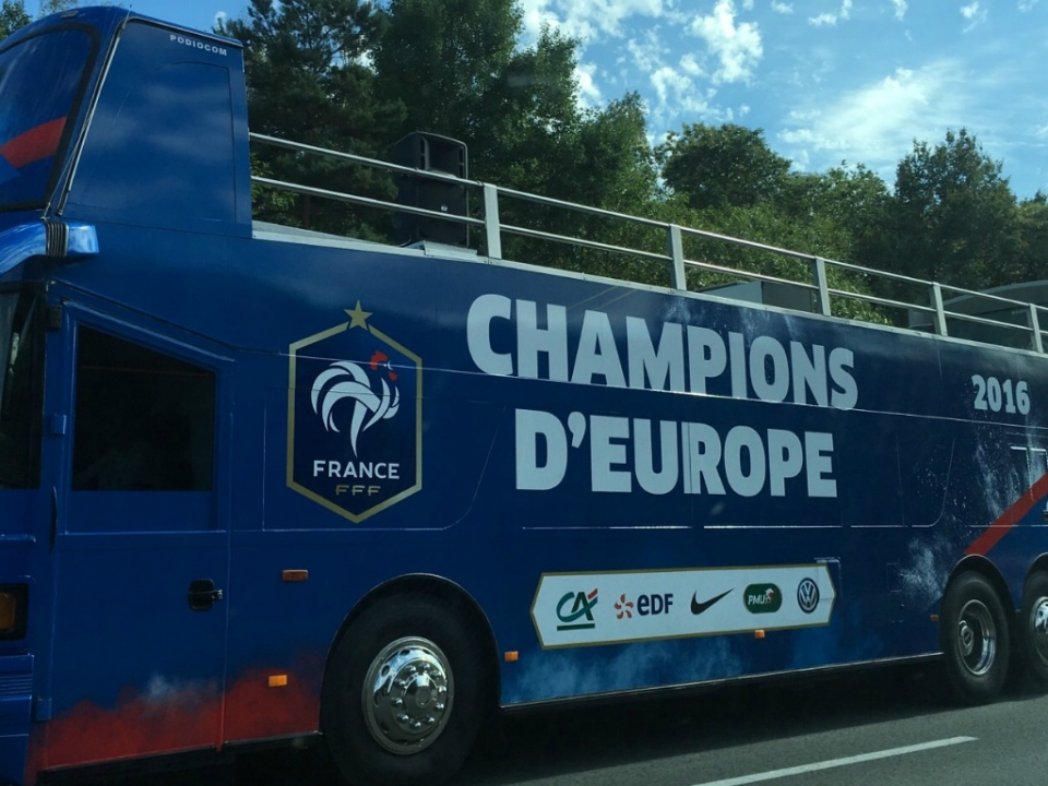 Champion d'Europe France