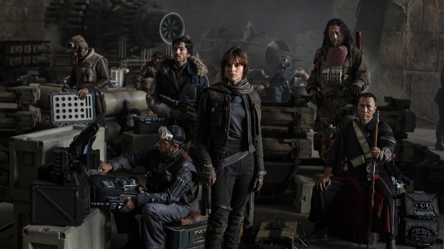 Rogue One è il miglior Star Wars di sempre banner