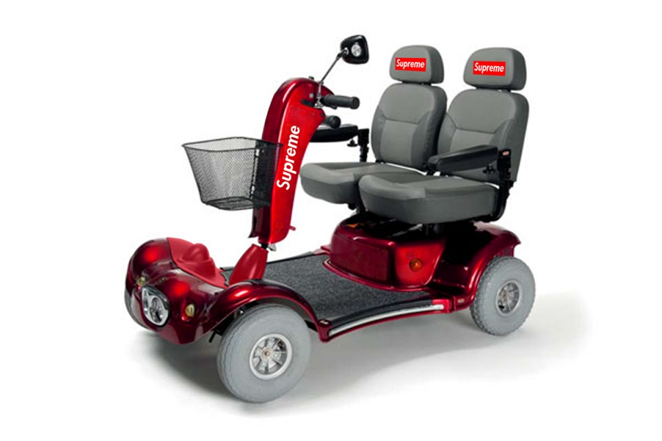 Scooter per disabili: Disabili si, ma nel modo giusto. In USA questo prodotto è quasi sold out.