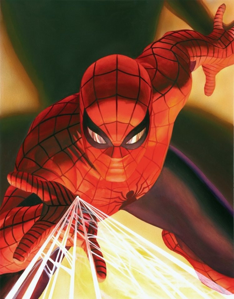 spiderman alex ross
