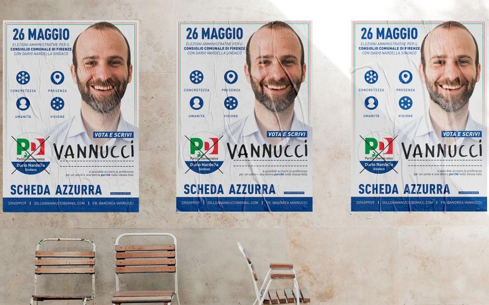 andrea vannucci elezioni comunali firenze 2019