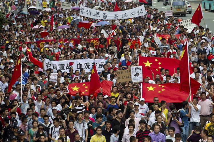 proteste manifestazioni cina