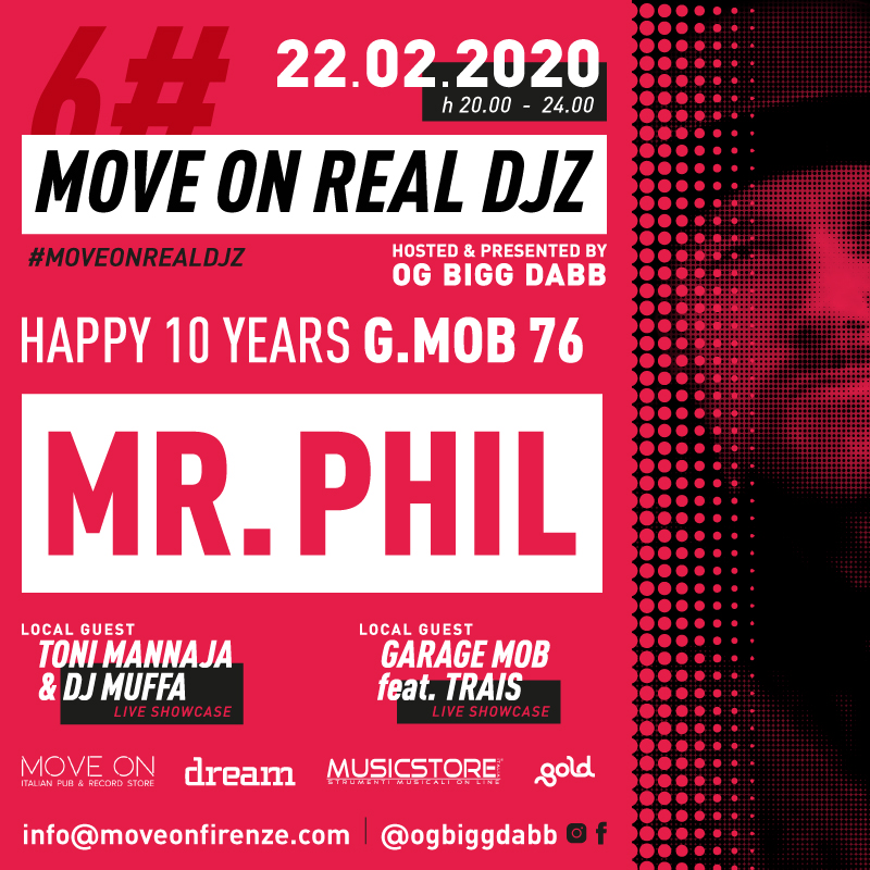 Move On Real Djz Mr. Phil Flyer