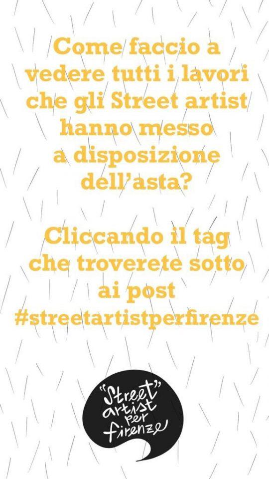 Street Artist per Firenze