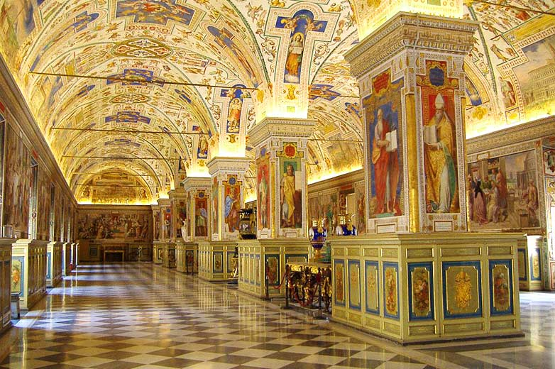 Arte in quarantena musei vaticani di roma