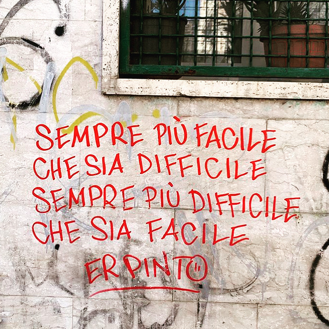 Er Pinto - Street Poetry