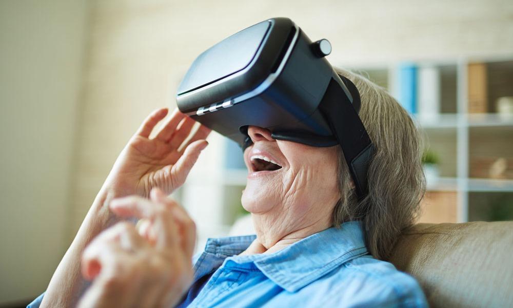 VR per RSA significa felicità banner