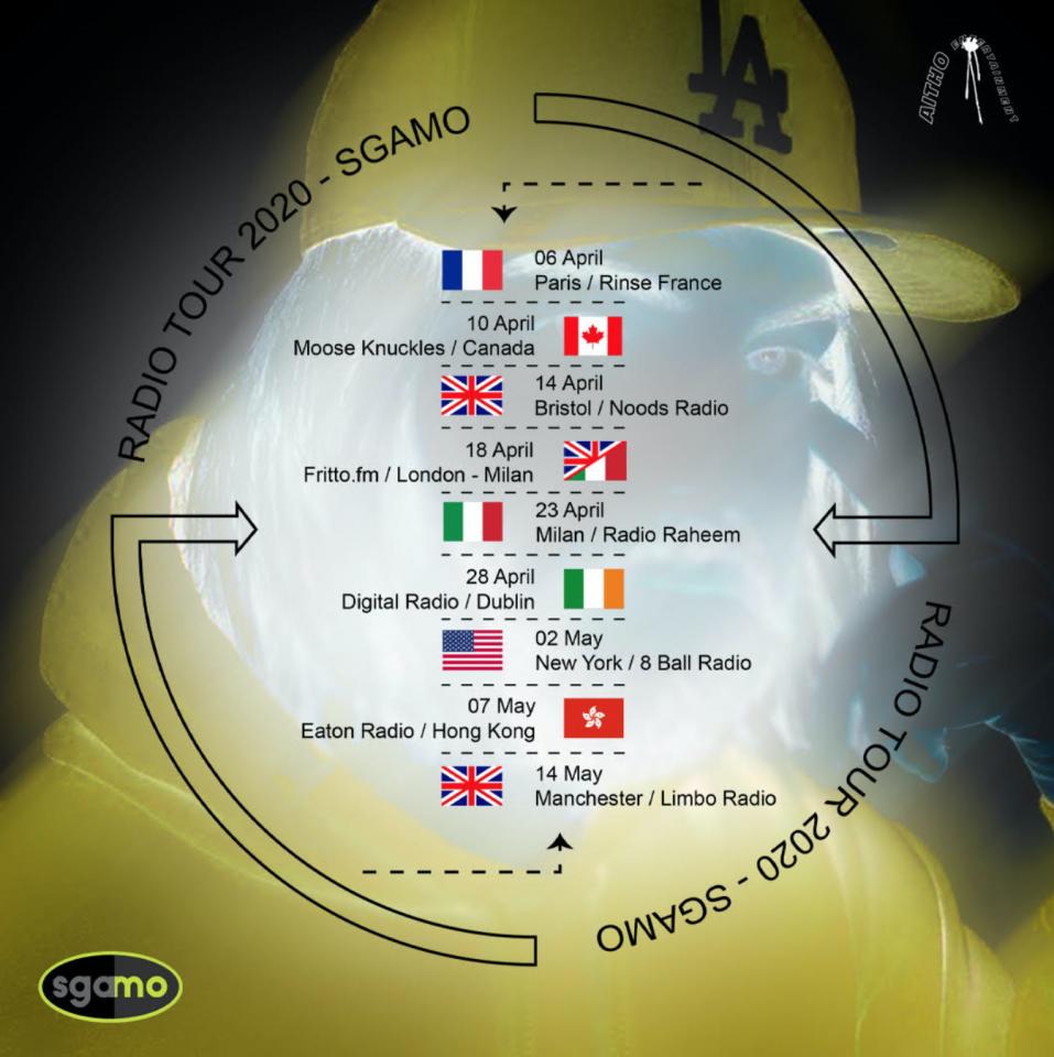 Sgamo Radio Tour 2020