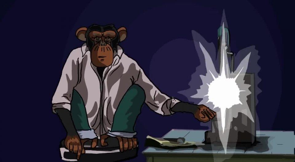 Waking Life: The Monkey