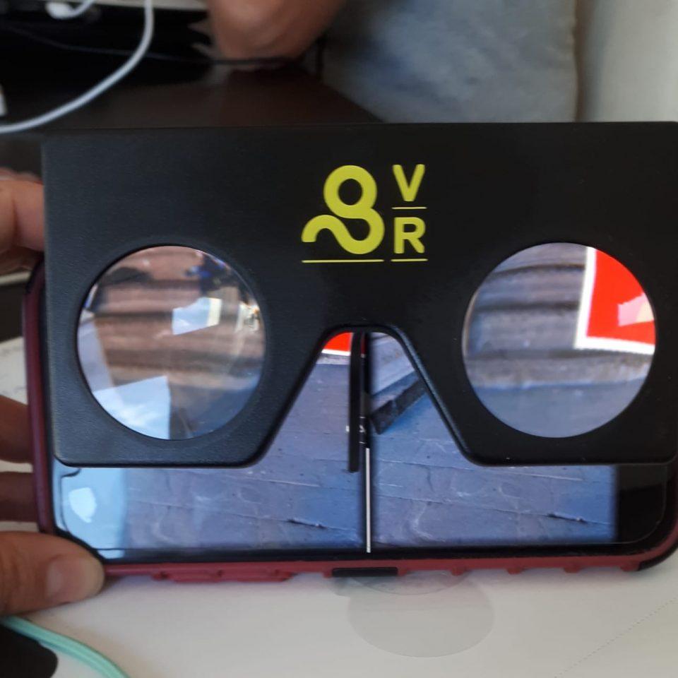 Gold VR Mini Goggles