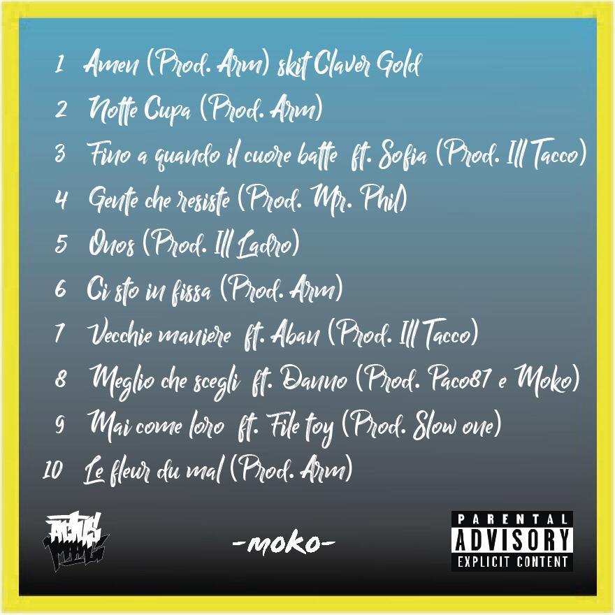 Actus Mali - Amen Tracklist