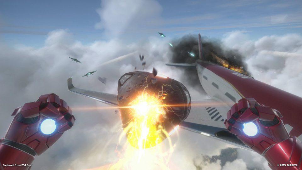 Screen da Iron Man VR - Play Station VR