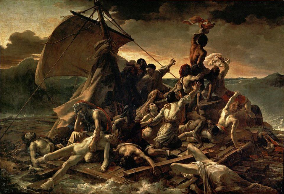 """""""Zattera della Medusa"""" di Géricault"""