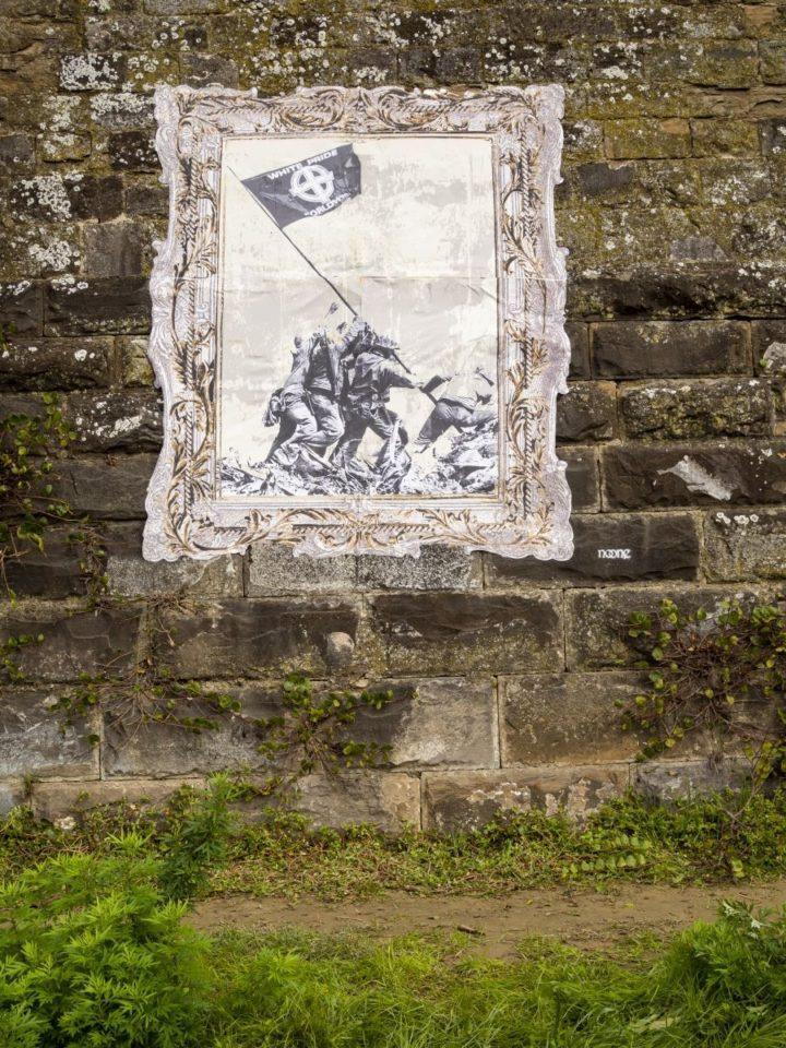 noone-streetart-italia-firenze-Soldati-goldworld
