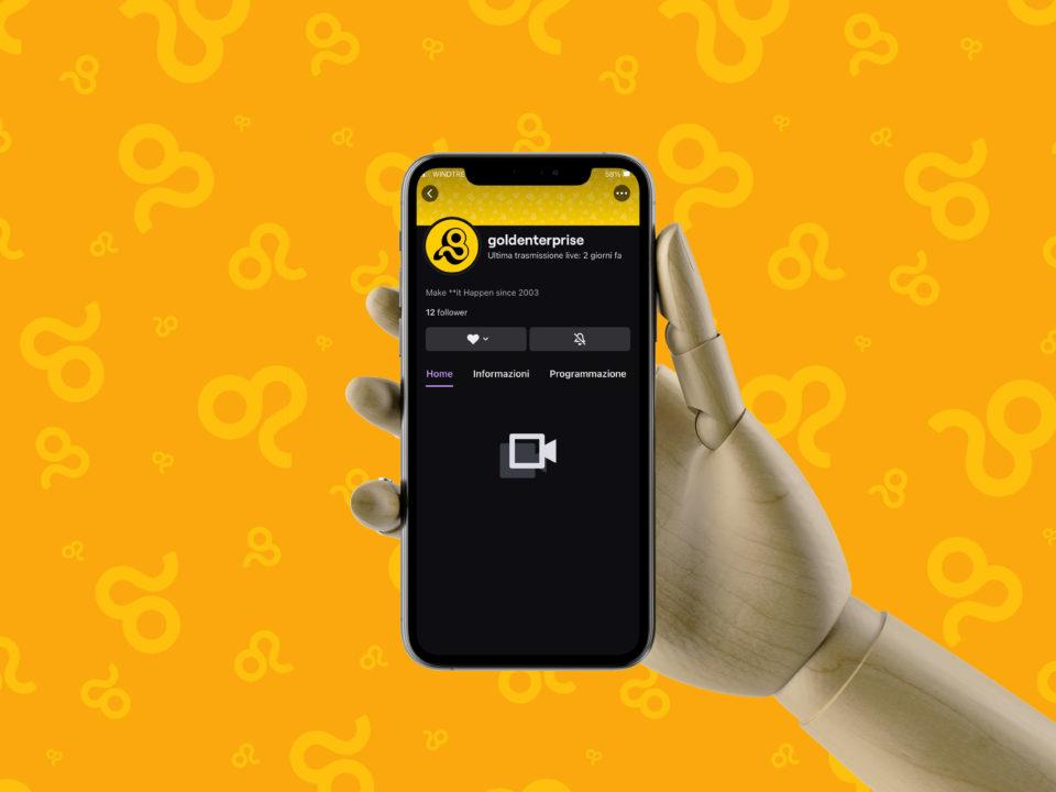 Gold enterprise twitch-Mobile-goldworld