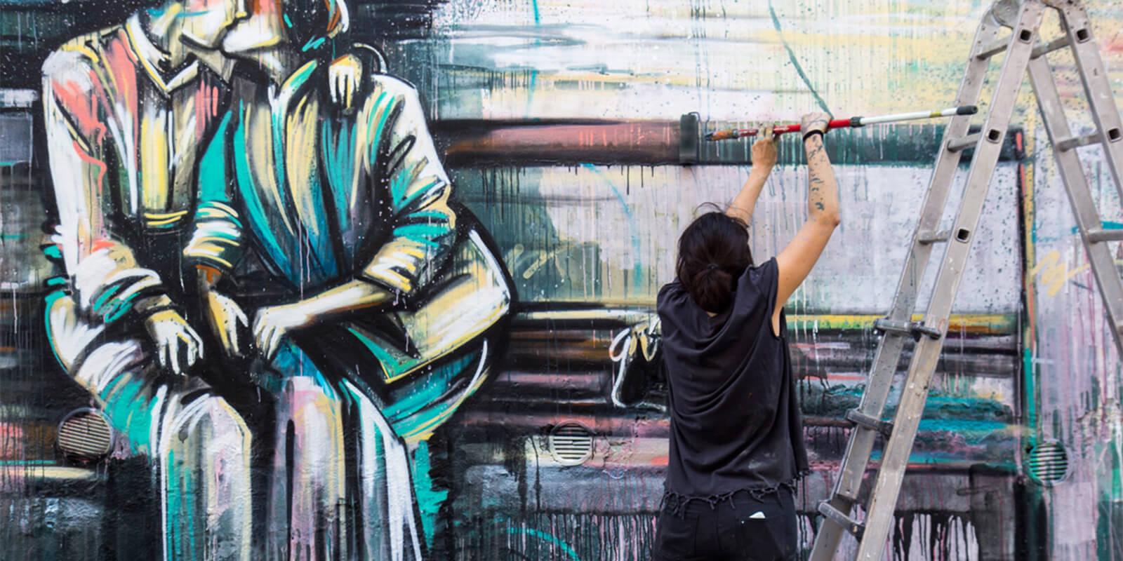 """Alicè: """"Disegnare è il mio modo di stare al mondo"""" banner"""