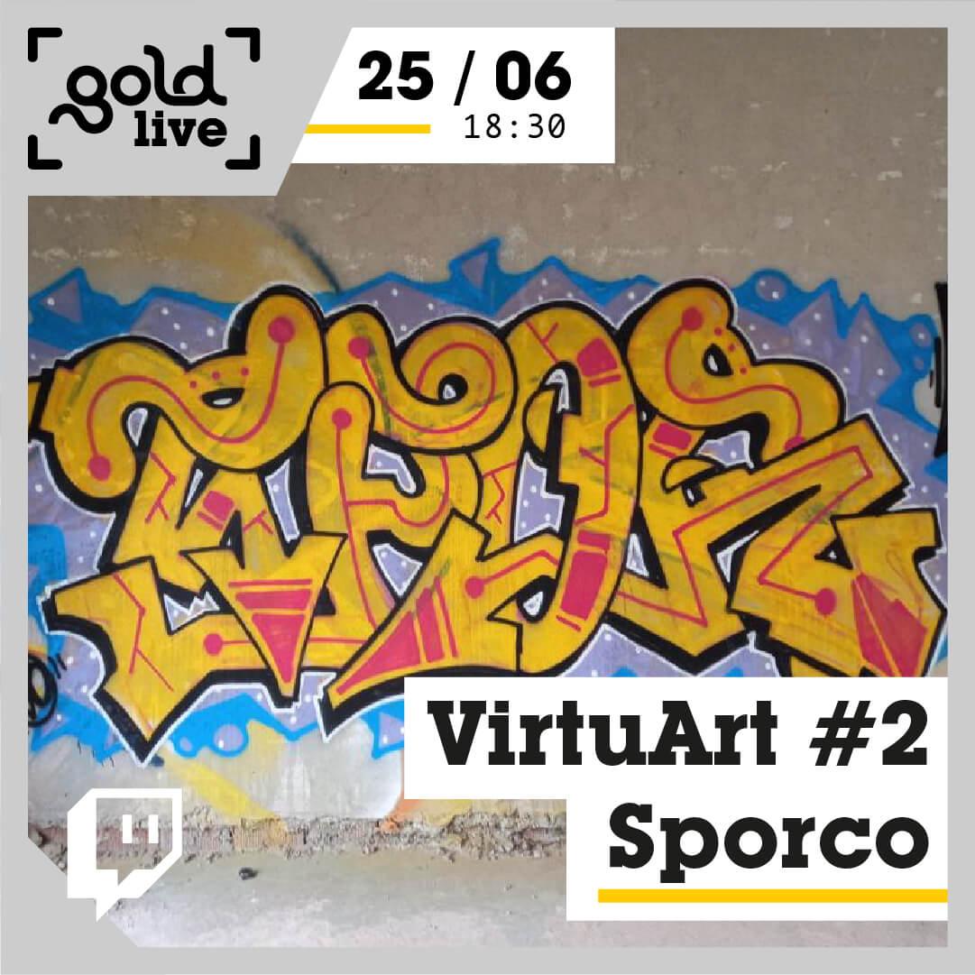 VirtuArt #2 - Sporco banner